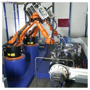 сварочные роботы